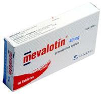 Tabletas Mevalotín