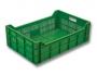 Cajas de plástico para las verduras, frutas