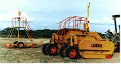 Maquinaria agrícola, Niveladoras laser con eyector