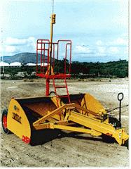 Máquinas agrícolas, Alisadoras laser sin eyector