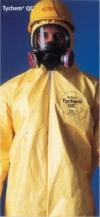 Overoles de protección química liquida Tychem