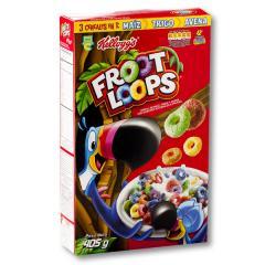 Desayuno se seca Froot Loops