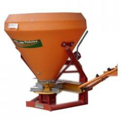 Equipo de los fertilizantes suelo