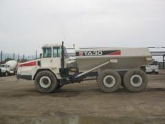 Camion articulado Terex Transito