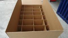 Cajas de embalaje de cartón particiones