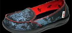 Zapatos de mujeres textiles