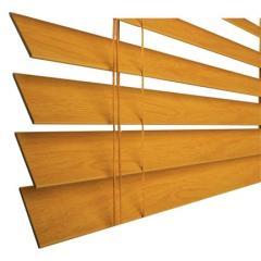 Persianas de madera horizontales