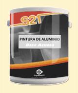 Pinturas para metales, Aluminio Difuso