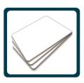 Tarjetas blancas