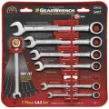 Llaves Americanas Gear Wrench. Milimetricas y en pulgadas