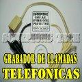 Grabador Telefonico Para 2 Lineas. Grabadora Para Centrales Telefonicas. Monitoreo Telefonos Linea CANTV.