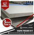 Laminas  de acero noxidable 2b de 3mm