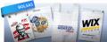 Paquetes de polietileno con el logotipo