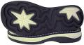 Productos de caucho, suelas de goma termoplastica bicolor