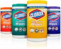 Toallitas para la limpieza Clorox Disinfecting Wipes