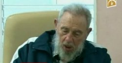 Un Fidel Castro emocionado recuerda a Chávez