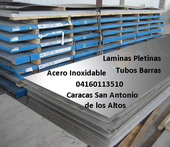 Acero Inoxidable Laminas Tubos Barras Pletinas Angulos Codos, San Antonio de los Altos