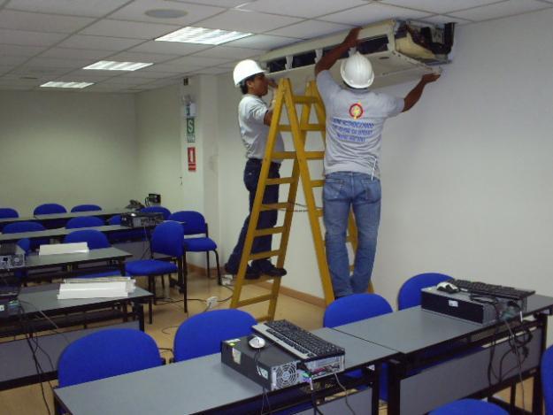 Pedido Instalación de sistemas de aire acondicionado