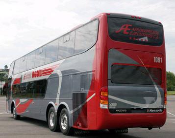 Pedido Transporte Terrestre Irizar Century 390 Ejecutivo
