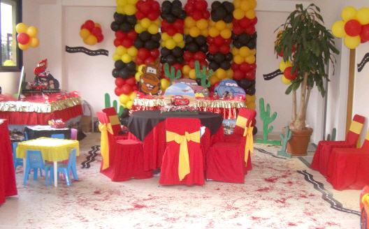 Pedido Organización de Fiestas para Niños