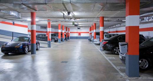 Pedido Zona de aparcamiento
