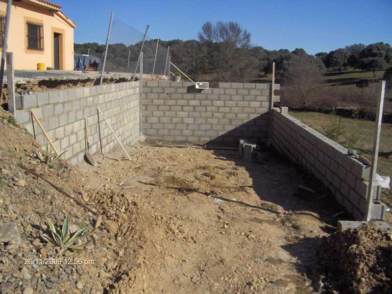 Pedido Construcción de paredes