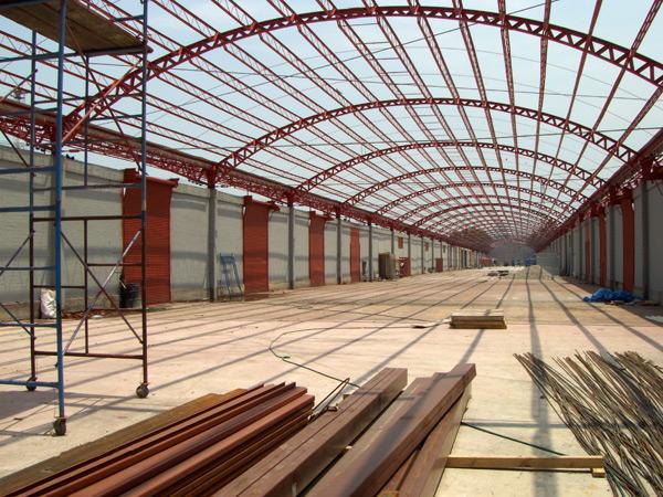 Pedido Construcción industrial