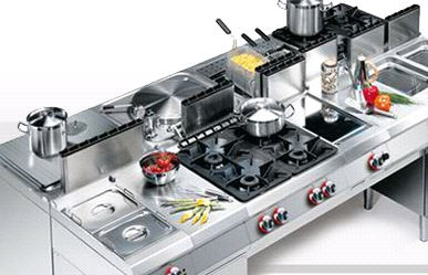 Pedido Coleccion de equipos de cocina