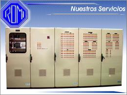Pedido Fabricación de paneles equipo eléctrico