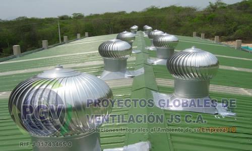 Pedido Extractores Eólicos Venezuela