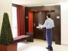 Servicio en habitaciones de hotel