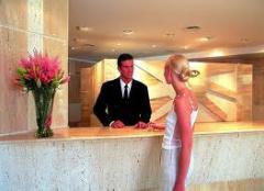 Salón de belleza en el hotel