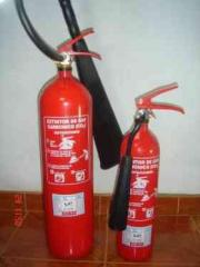 Recarga de los extintores