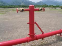 Instalación de sistemas de extinción de incendios