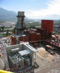 Construcción de las plantas de energía