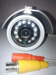 Proyección de sistema de seguridad