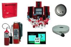 Instalación de alarma de incendio