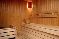 Sauna en el hotel