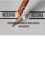 ASESORIAS ADMINISTRATIVAS EN VENEZUELA