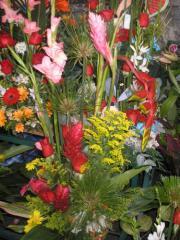 Decoraciones y flores para fiestas y eventos