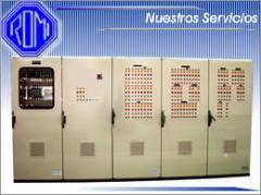 Fabricación de paneles equipo eléctrico