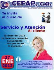 Curso de Servicio y Atención al Cliente